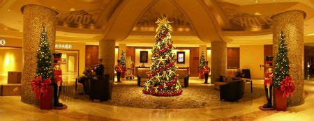christmas tree decorators for hire los angeles tree rental service for businesses ambius