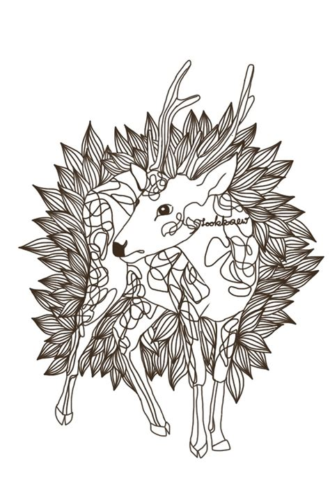 mini doodle sketch deer doodle sketch on mini draw