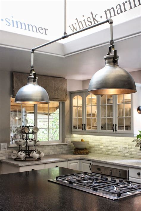 industrial style kitchen island lighting operation