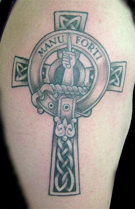 celtic cross tattoos with names celtic cross tattoos with family names tattooic