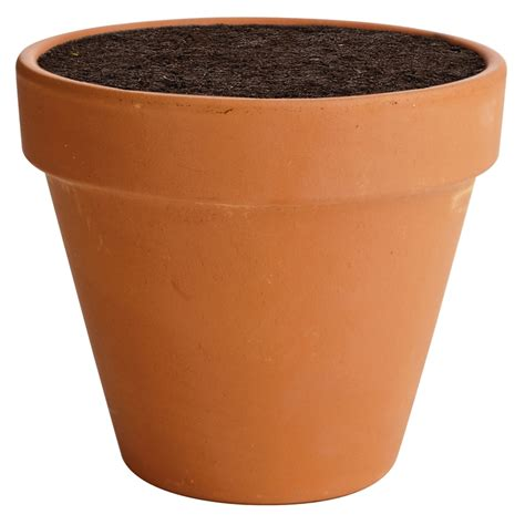 planter pot terracotta plant pot 15cm at homebase co uk