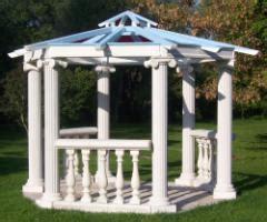 pavillon mit glasdach pavillon aus sandstein gazebo mit glasdach in