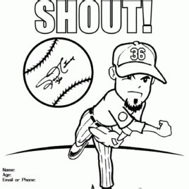 mlb stl cardinals free colouring pages