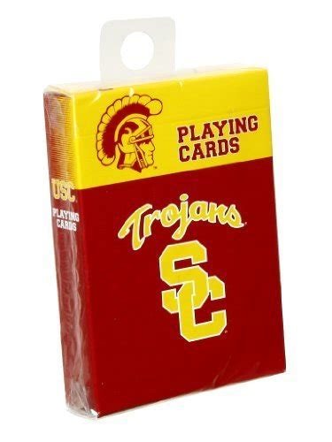 Usc Gift Card - usc playing cards usc trojans playing cards