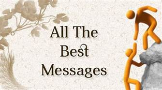 all the best messages good luck wishes sle
