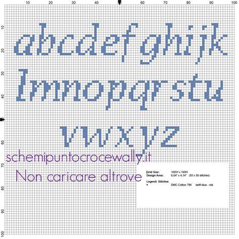 punto e croce lettere schemi punto croce gratis di wally alfabeto punto croce