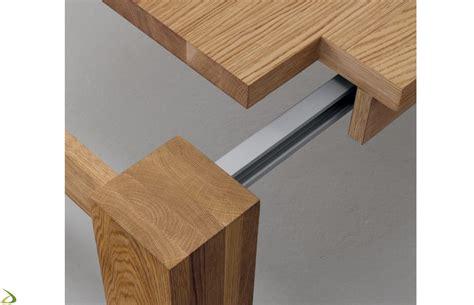 meccanismo per tavolo allungabile tavolo in legno massello arredo design