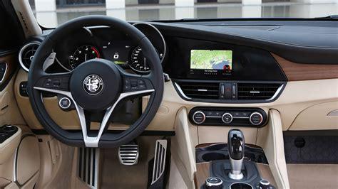 alfa romeo giulia interior alfa romeo giulia 2 2 multijet 180 diesel 2016 review