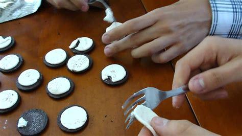 experimentos con alimentos experimento 1 oreos youtube
