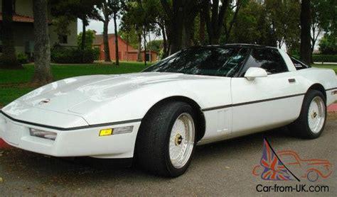 1989 chevy corvette coupe white 5 7 liter v8 4 speed 23k