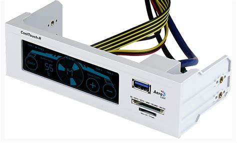Aerocool Panel Cool Touch R White Edition aerocool releases the cooltouch e and cooltouch r fan controllers techpowerup