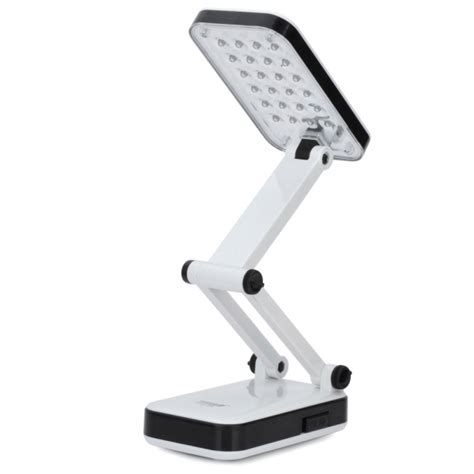 ottlite led desk l with color cord dp led666 foldable rechargeable 2 mode 24 led white light