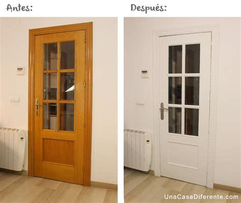 pintar las puertas de casa diy c 243 mo pintar puertas de madera en blanco lijar una