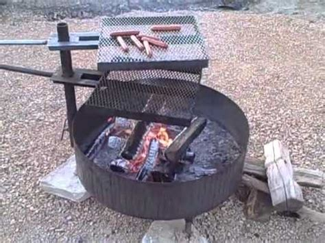 how to cook on pit free standing pit 2 cooking grates