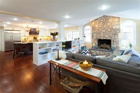 Half Wall Dividing Kitchen And Living Room 19 Half Wall Designs Ideas Design Trends Premium Psd