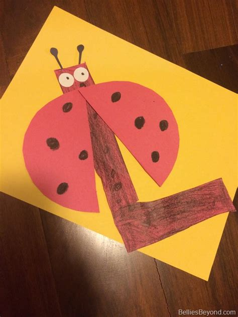 l craft project preschool activities for the letter l