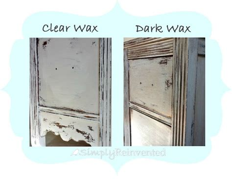 chalk paint wax on top of polyu simply reinvented wax tutorial home painted