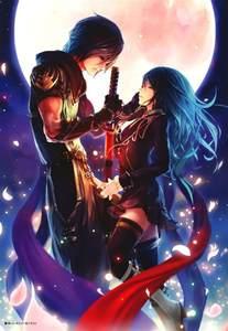 Anime couples artbooks true love s blade animal manga anime manga
