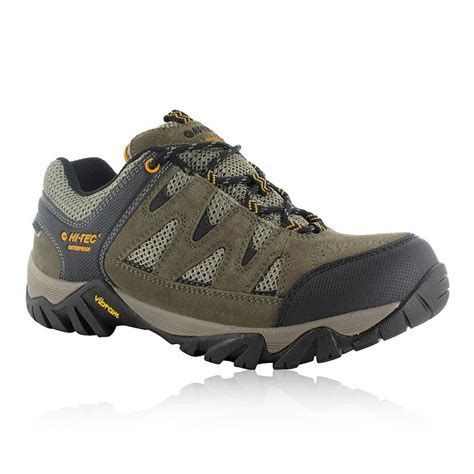 Hi Walk Outdoor Shoes hi tec sonorous mens green vibram waterproof walking