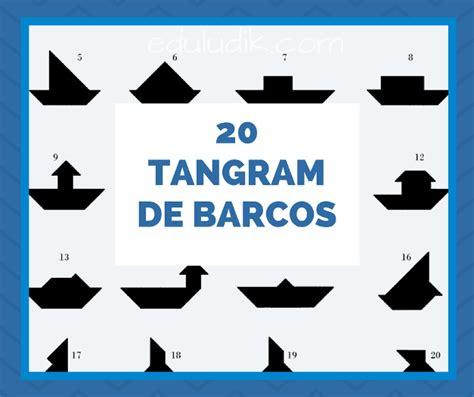 imagenes de barcos con tangram 20 tangram de barcos rompecabezas para imprimir
