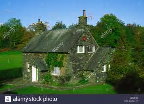lake district cottage windermere cumbria stock