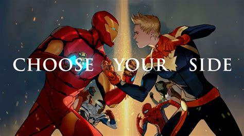 civil war ii choose your side civil war ii trailer youtube
