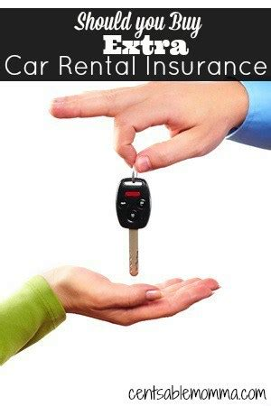 Should You Buy Extra Car Rental Insurance?   Centsable Momma