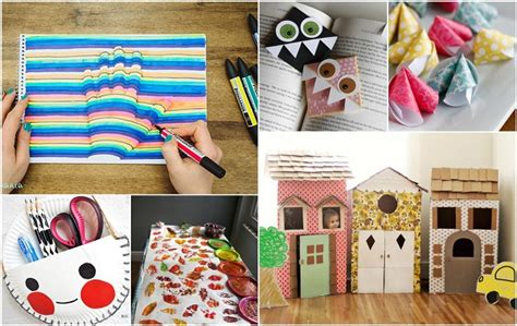 Using Paper To Make Things - home ideas projects to make a house a