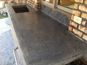 Slate Kitchen Countertops Concrete Countertops Sted Concrete Countertop Desert Slate Titanium Grey Ecostain
