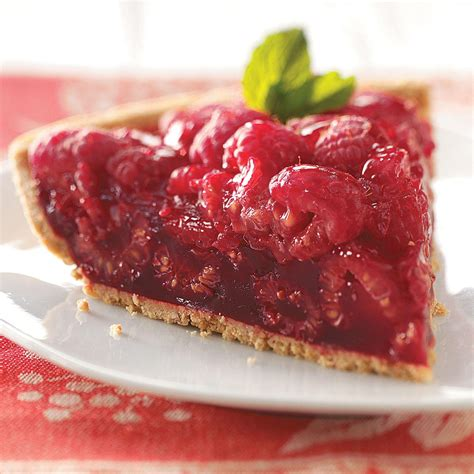 fresh raspberry pie recipe taste of home