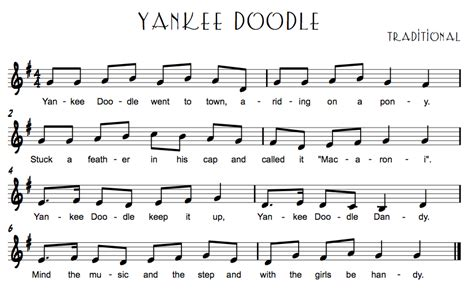 free yankee doodle song american folk songs technologi information