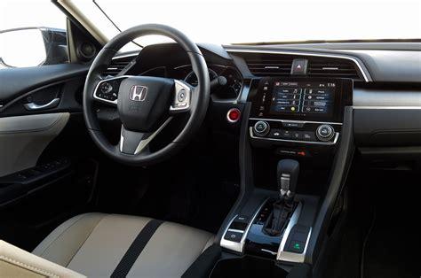 Honda Civic Ex Interior by 2016 Honda Civic Ex Sedan Review Automobile Magazine