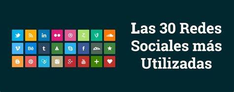 imagenes de redes sociales mas populares gestor de proyectos webquest las tic