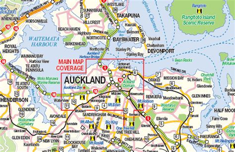 us area code nz auckland city island travel ref map