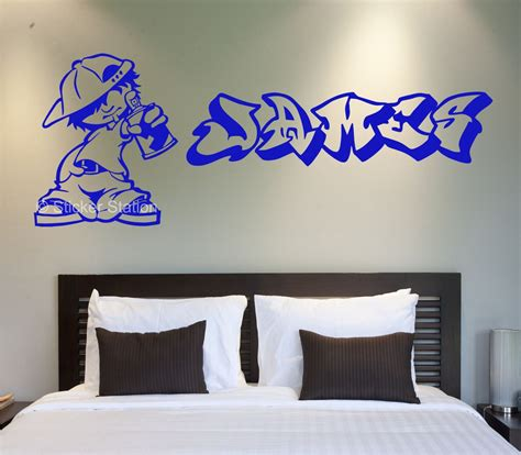 name stickers for bedroom walls personalised name stickers for walls home design