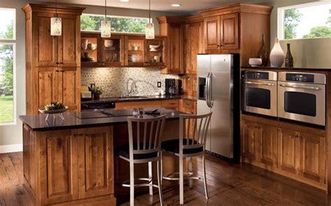 modern rustic kitchen cabinets kraftmaid natural warmth outdoors captured birch kitchen finished praline modernize