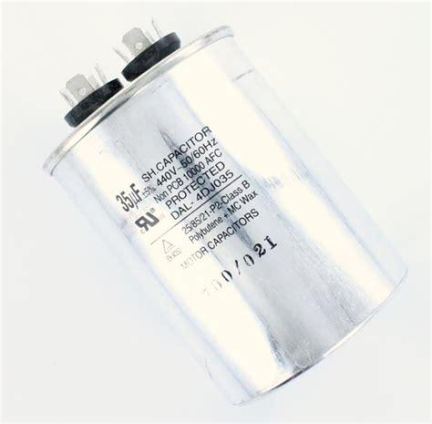 self running motor capacitor motor start capacitors and motor run capacitors
