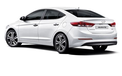 Home Interior Tips by 2016 Hyundai Elantra Official Pics White Rear Angle