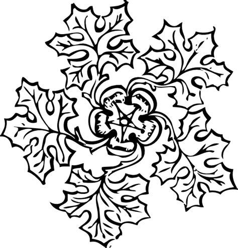 Junjung Drajat Hitam Simetris leaf decoration clip at clker vector clip