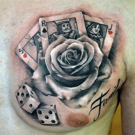 playing cards tattoo designs 90 card tattoos for lucky design ideas