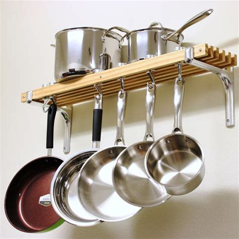 Racks To Hang Pots And Pans From In The Kitchen how to choose the right rack for hanging pots and pans