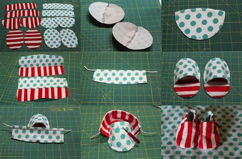 how to make upholstery patterns thatssewnina cloth baby shoe tutorial