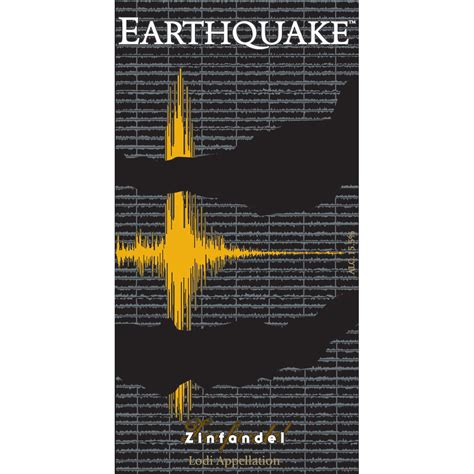 earthquake zinfandel michael david winery earthquake zinfandel 2013 wine com