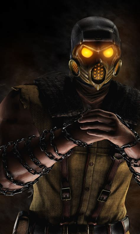 mortal kombat x wallpaper hd android scorpion mortal kombat x game wallpapers hd wallpapers