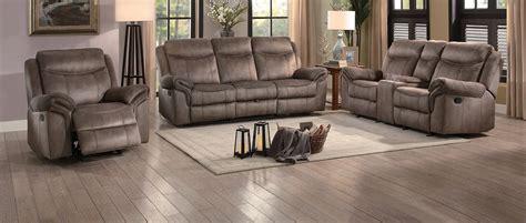 homelegance reclining sofa reviews homelegance aram reclining sofa set brown fabric 8206nf
