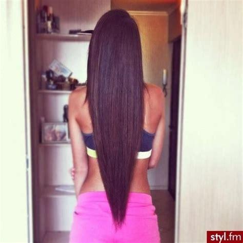 mzansi s straight back hair long straight v cut back hairstyle cut back view 1