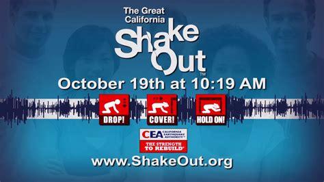 great california shakeout earthquake drills planned  santa clarita video