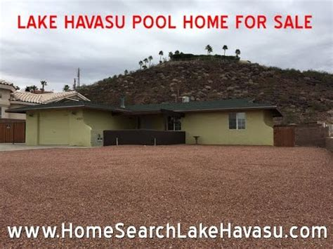 lake havasu pool homes for sale 4050 cherry tree blvd lake