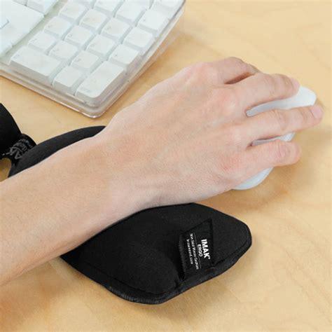 ergo bean bag wrist rest a10165 imak ergo mousecushion use 2000x2000 rehacare