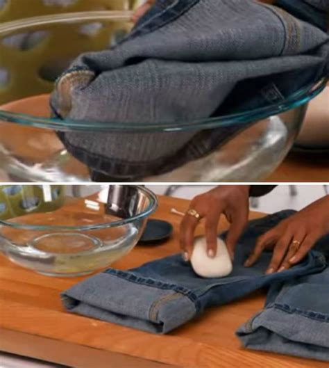 instead of tossing out clothes that stains try